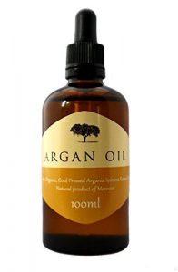 L'huile d'argan est riche en vitamine E