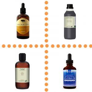 Les huiles pour les soins de cheveux